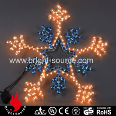 Perfect Snowflake shape led rope lights