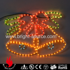 New led rope lights for holiday decoration