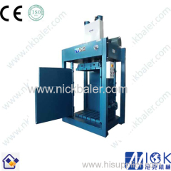 Lifting Chamber Textile Cloth hydraulic baler