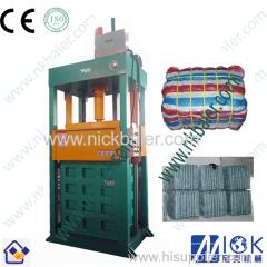 hydraulic cotton bale press machine by Nick Baler company