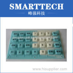 Silicone Rubber Keyboard For Industry Control