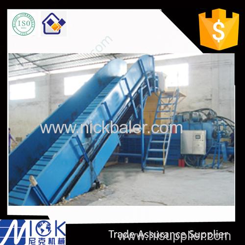 Brown Paper Baler machine with Hydraulic Baler