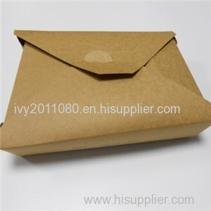Kraft Lunch Paper Food Box