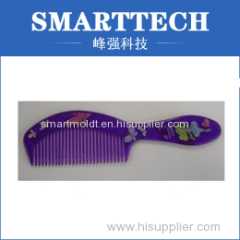 Silkprint Colorful Plastic Injection Comb Mould