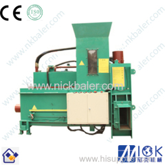 Wood Shavings Baler with Baling Press