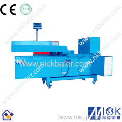 Baler wood shavings Wood shaving bale press