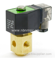 PT series 3 port air water oil solenoid valve