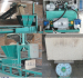 horizontal continuous out bag Wood shaving recycling press machine