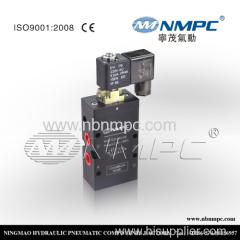 K25JKD-08 5 ways medium pressure pneumatic flange valve