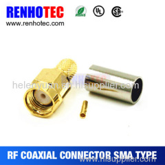 Hot Best waterproof Crimp Sma connector for rg174 made in china