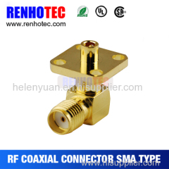 Best Price Flange sma female r/a connector for cable RG59