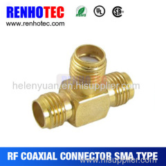 Hot Dosin T Type Sma connector for cable in shenzhen