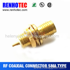 Hot Dosin Best rf sma bulkhead connector 3.5mm female