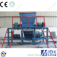Double Shaft Waste Shredder/ Waste Shredding Crusher Machine for garbage