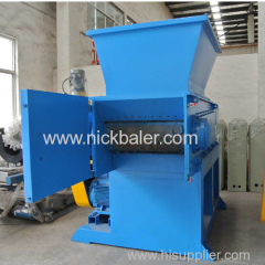 high quality single shaft wood pallet shredder