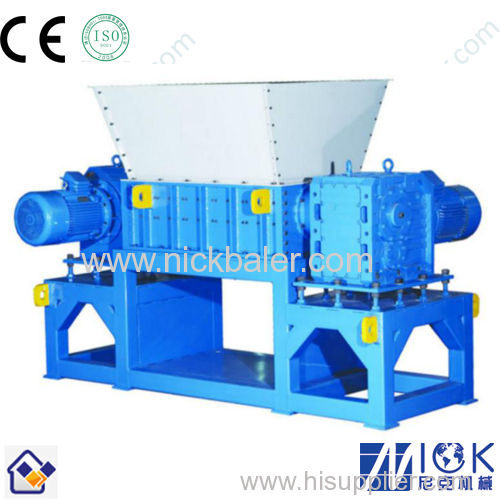 Nick Baler with Heavy duty double shaft shredder for sales