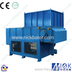 Nick Baler plastic double shaft shredder