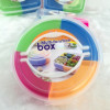 Multi-function food box Fruit Box snack box lunch box round shape Manufacturer