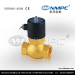 High temperature steam solenoid valve