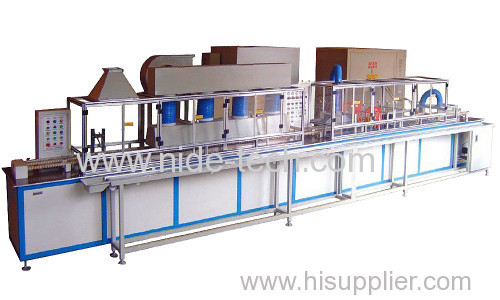 AUTOMATIC MINI ROTOR POWDER COATING MACHINE