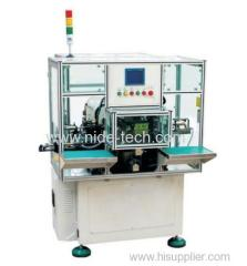 DOUBLE STATION 2 POLES STATOR WINDING MACHINE