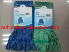 Stripes Microfiber Cloth Mophead Customization Mop Manufacturer Easily Washing
