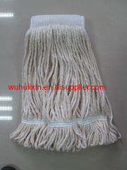 2015 New Item Cotton Wet Mop Head Big Size for Public Use