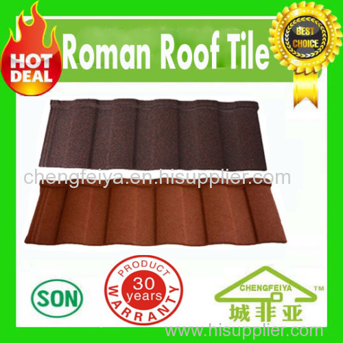 roofing sheets made in china sand coated metal roofing tiles