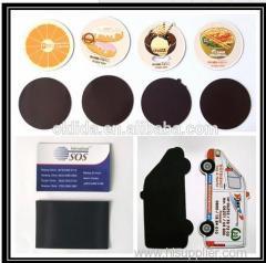 Coated paper fridge magnet Promotional Buttons Promotional Magnets Handmade Crafts
