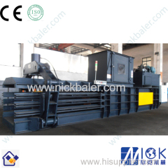 waste carton press machine with silage baler machine