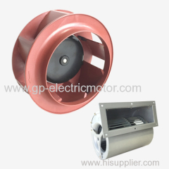 Small Electric Plastic Metal High Pressure Industrial AC DC Brushless EC Radial Centrifugal Fan Backward Curved
