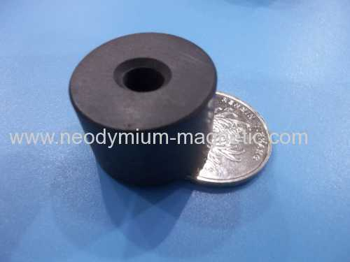 Permanent strong pot ferrite magnets for sales