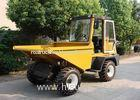 Closed Cabin Full Automatically Tipped Concrete Dumper For Transportation / Loading / Dumping