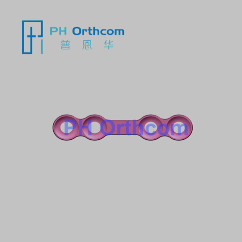 Micro Locking Plate straight plate 4holes with gap matching with 1.5mm locking screw Cranio Maxillofacial Locking System