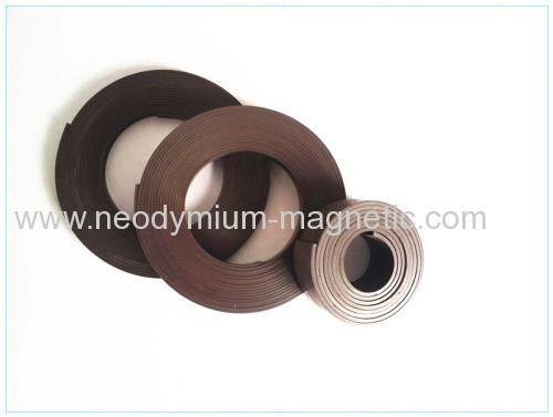 flexible magnet strip rubber magnet strip used in motors