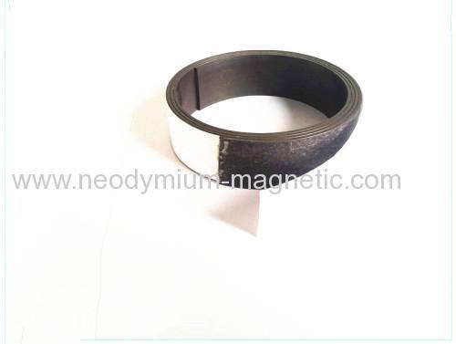 flexible magnet sheet rubber magnet sheet with PVC Ultraviolet varnish