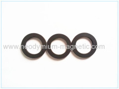 strong flexible rubber ring magnet for motors