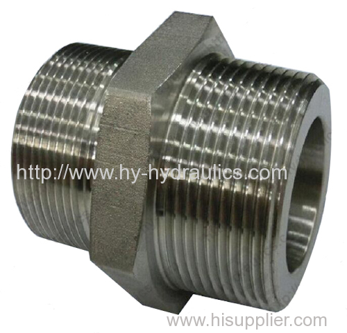 BSP male double use for 60° cone seat or bonded seal/ BSPT male Adapters 1BT-SP