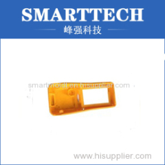 Yellow Color Plastic Injection Mould For Cell Phone Shell