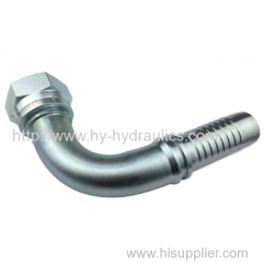 90 degree metric female 60 degree cone seal hydraulic pipe fitting