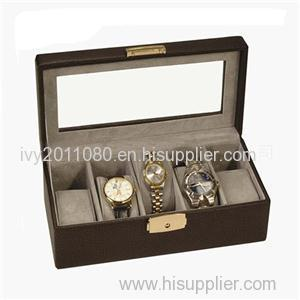Multiple Watch Leather Packaging Box