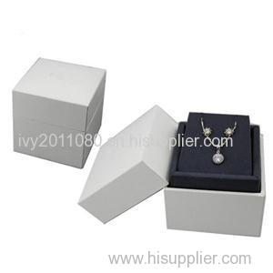 White Paper Necklace Box