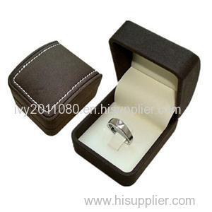 Engagement Velvet Ring Box