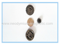 stainless steel copper base iron oil bearing gear