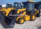 Wheeled Hydraulic Backhoe for Compact Tractor 7400 Kg Operating Weight