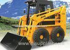 1400 Kg Tipping Load 4WD Skid Steer Loader With Bobcat Attachments 40 Dumping Angle