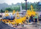 Aggregate Bitumen 30 TPH Double Drum Asphalt Mixing Plant With 97 KW Oil Burner