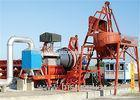 63.5KW Oil Burner Hot Asphalt Mixing Plant 1000kgs Feeder Hopper Capacity CE / SGS / ISO9001