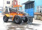 4 Ton Multifunction Diesel Telescopic Boom Forklift With Two Quadrangle Telescopic Arm
