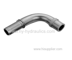 carbon steel 90 degree GB metric standpipe hydraulic hose fitting
